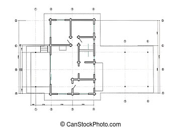 floor plan blueprint