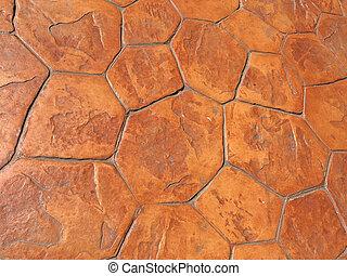 Floor stone for background