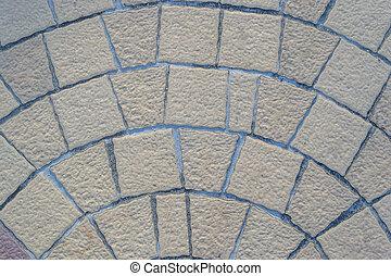 floor stone rocks brick pattern