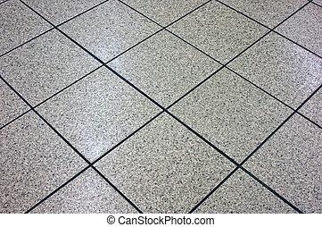 floor tile - grey marble floor tile angling away, suitable...