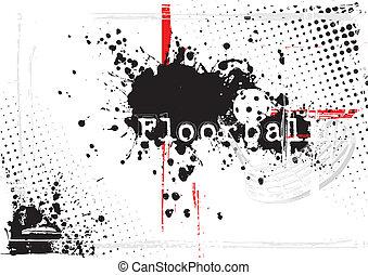 floorball, fundo
