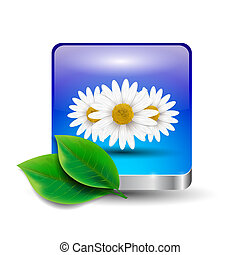 flor, ícone
