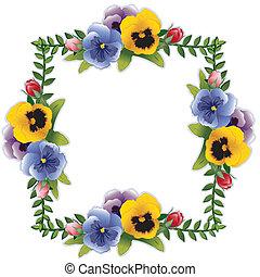 flor, amor-perfeitos, rosas, quadro