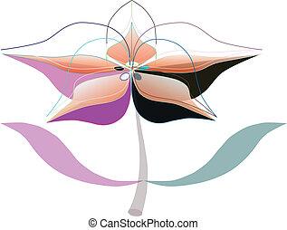 flor, artístico