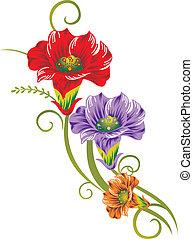 flor, arte