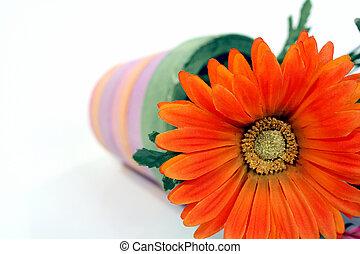 flor, caído