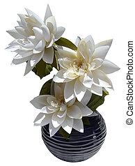 flor de loto, arreglo