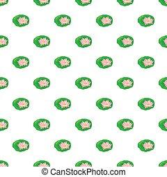flor de loto, patrón