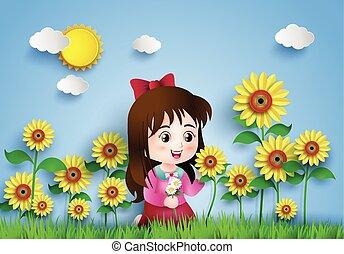 flor, field.