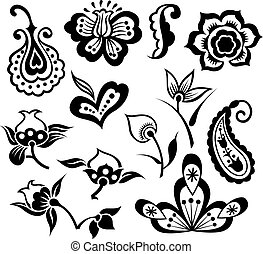 flor, ilustración