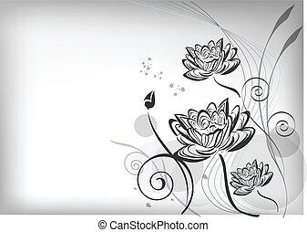 flor lotus, oriental