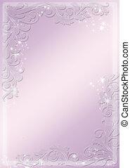 flor, púrpura, moderno, -, theme., vector, plano de fondo, ...
