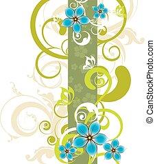 flor, plano de fondo