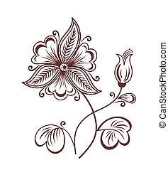 flor, retro