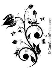 flor, scroll