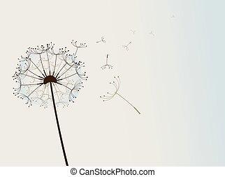 flor, wind.