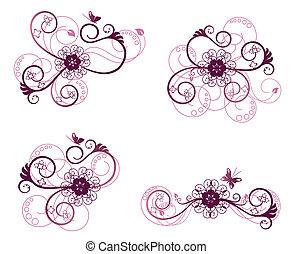 floral 2, tervezés elem