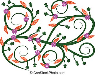 floral, 25