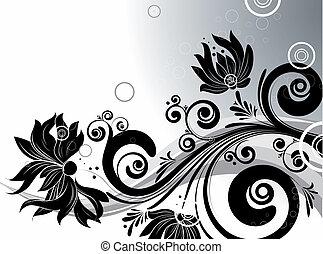 floral, abstracción