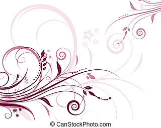 Floral abstract - Abstract floral design