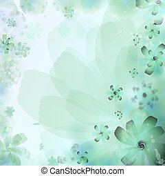 Floral Abstract Background. eps 10