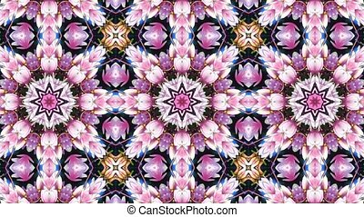 Floral Abstract Motion Background