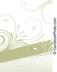 floral, abstract ontwerp