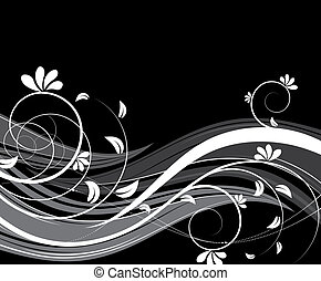 Floral abstraction - Abstract illustration