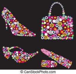 floral, accesorios
