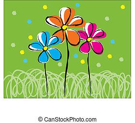 floral, amigos