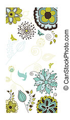 Floral and Nature Background for Your Text