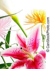 Floral arrangement - Detail of spring floral arrangement...