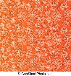 floral, arrière-plan., résumé, fleur, wallpaper.