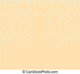 floral art background