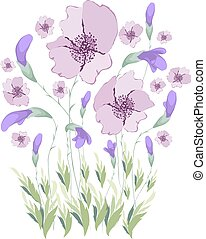 Floral Art Watercolor painting