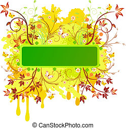 Floral  artistic vector