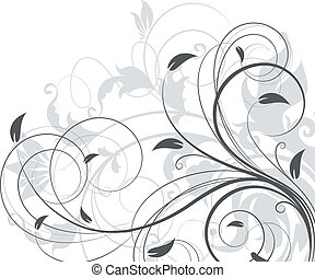 Floral background - Abstract vector illustration for design....