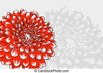 Floral background - beautiful Floral vector background...