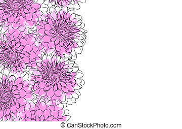 Floral background - beautiful Floral vector background (...