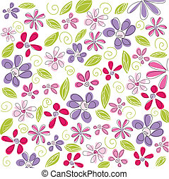 floral background, easter
