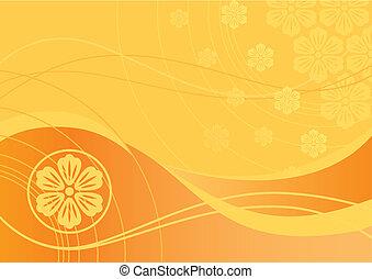 Floral Background (vector)