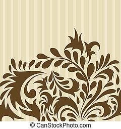 floral background - Floral background for design use.