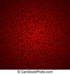 Floral background in vintage style. Vector illustration,...
