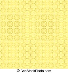 Floral background in yellow