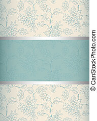 Floral  background. Invitation to the wedding or announcements. ESP 10