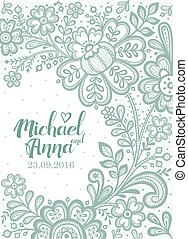 Floral Background Lace.