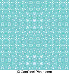 Floral background. Patten with decorative flowers.