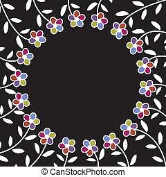 floral background, pattern