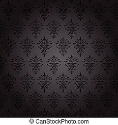 Floral background template