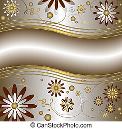 Floral background (vector)